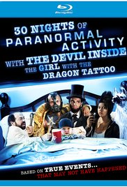 30 Nights of Paranormal Activity with the Devil Inside the Girl with the Dragon Tattoo 2013